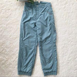 Vintage Burton sage green snowboard ski pants 12
